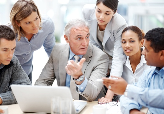 managing managers Choose the right synonym for manage verb conduct, manage, control, direct mean to use one's powers to lead, guide, or dominate conduct implies taking responsibility for the acts and achievements of a group.